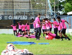 União Barbarense Leão da Treze Elenco Série A2 (Foto: Sanderson Barbarini / Foco no Esporte)