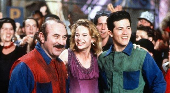 Mario, Daisy e Luigi no filme de 1993 (Foto: Divulgação)