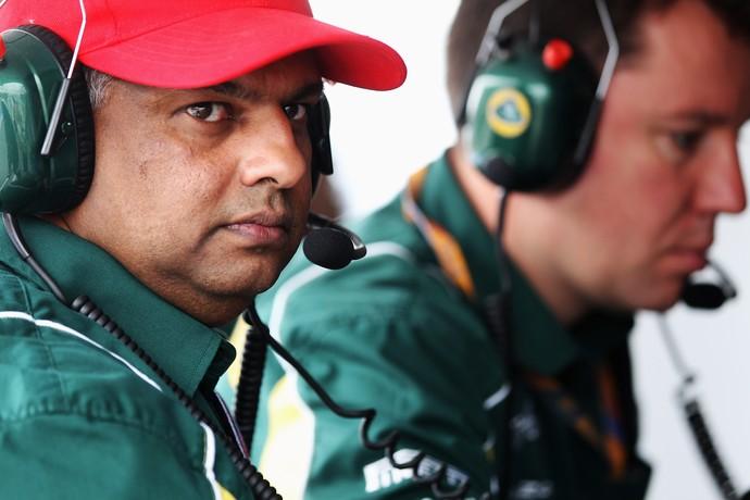 Tony Fernandes, dono da Caterham, põe equipe à venda (Foto: Getty Images)