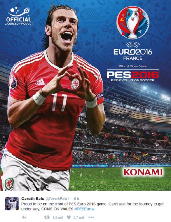 BLOG: Líder de geração galesa e astro do Real, Bale será capa de jogo da Eurocopa