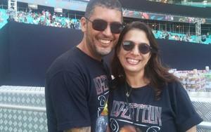 Michele e Alex Brto, Festival de Verão Bahia (Foto: Juliana Almirante / Gshow)