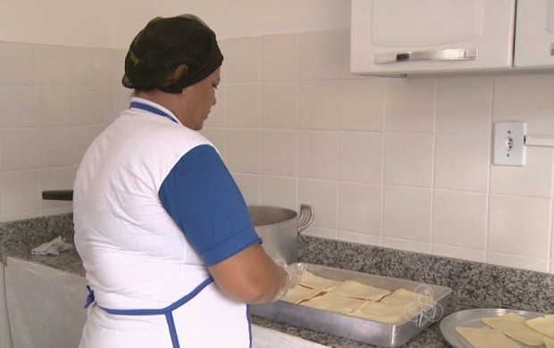 Receita de Roraima participa de concurso de alimentação (Foto: Roraima TV)