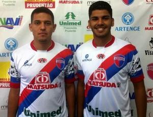 Thiago Nonato e Rodolfo Filemon, Grêmio Prudente (Foto: Vitor Ingrácia / Grêmio Prudente, Divulgação)