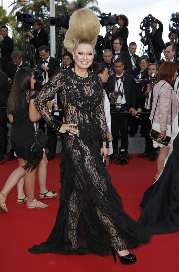 Elena Lenina no Festival de Cannes (Foto: Reuters)