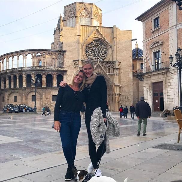 Fiorella e Sandra Mattheis (Foto: Reprodução Instagram)