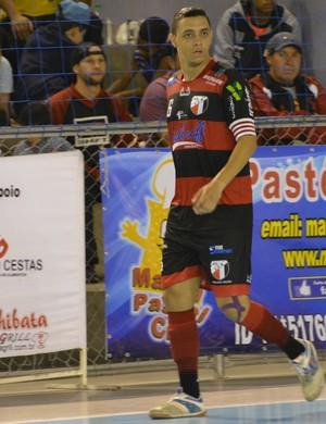 Rafa ala-pivô Grêmio Mogiano Liga Paulista Futsal (Foto: Cairo Oliveira)
