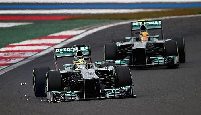Nico Rosberg Lewis Hamilton GP da Coreia do Sul