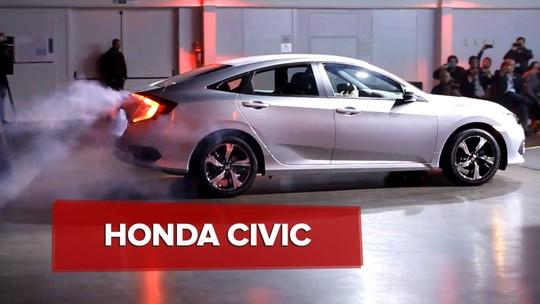 Honda Civic hatch tem nova versão de produção revelada