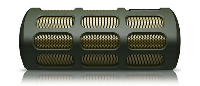 Caixa de som Bluetooth para barcos suporta respingo (Foto: Divulgação/Phillips)