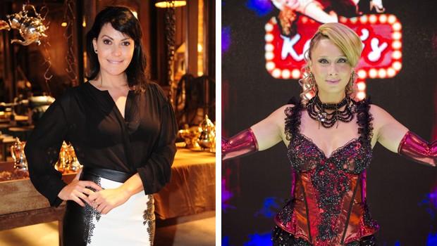 Fabíula e Katiuscia participam do Esquenta! neste domingo (8) (Foto: João Cotta e Raphael Dias/TV Globo)