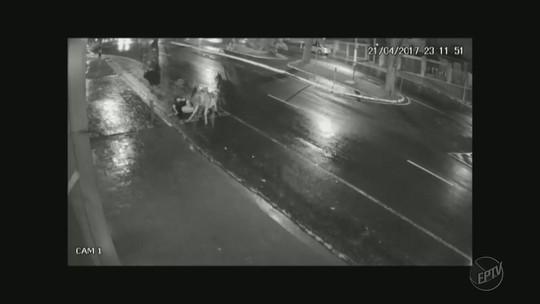Jovem montado em mula é atropelado por carro em avenida em Franca; vídeo