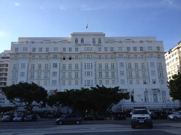 Hotel Copacabana Palace (Foto: Cristina Índio do Brasil/G1)