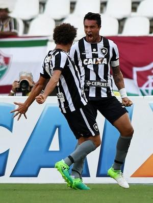 Gol Dudu Cearense  - Botafogo x Fluminense  (Foto: Alexandre Durão)
