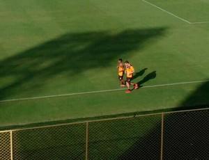 Marinho; Vitória (Foto: Thiago Pereira)
