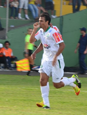 Athos marca o quarto gol da Chapecoense (Foto: Daniel Cavagnoli / Chapecoense)
