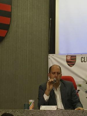 Alexandre Póvoa Flamengo Anjo da Guarda (Foto: Thiago Quintella)