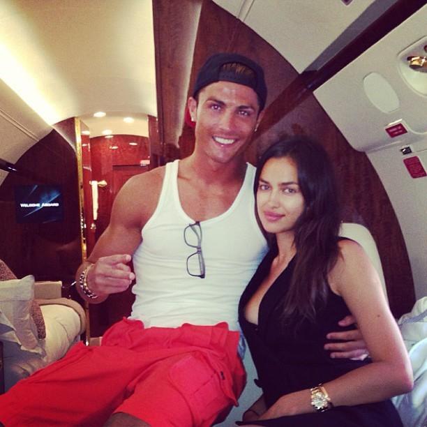 Irina Shayk e Cristiano Ronaldo (Foto: Instagram/ Reprodução)