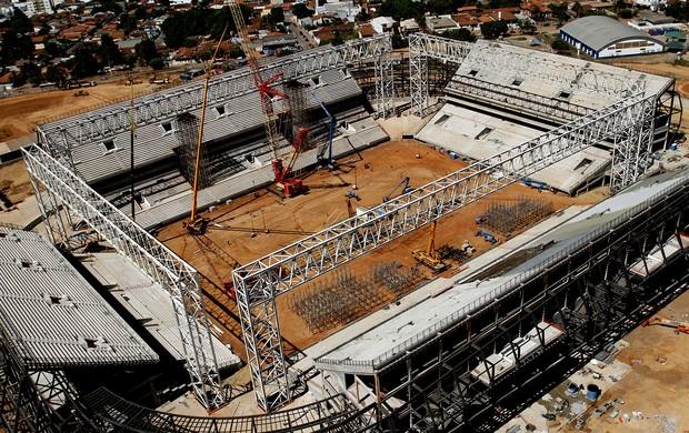 porticos cobertura Arena Pantanal (Foto: Edson Rodrigues/Secopa-MT)