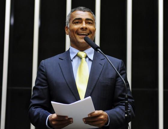 Senador Romário (PSB-RJ) (Foto: Gustavo Lima/Deputado Federal)