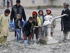 Aumenta o número de crianças vítimas do conflito afegão