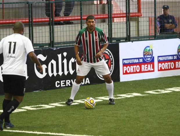 Djair, jogador de showbol do Fluminense (Foto: Ricardo Cassiano/Divulgação)