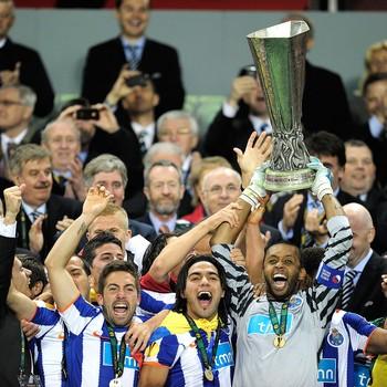 Helton, Porto x Braga - UEFA Europa League Final 2011 (Foto: Getty Images)