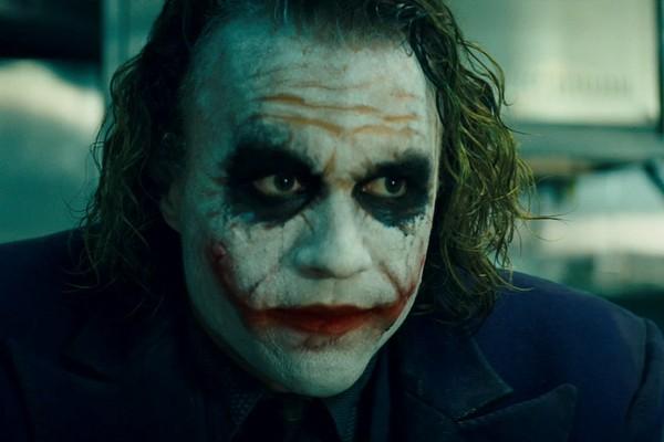 Heath Ledger em Batman - O Cavaleiro das Trevas (2008) (Foto: Reprodução)