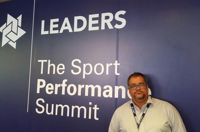 Fernando Simone participa de seminário em Londres (Foto: Divulgação )