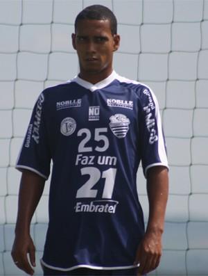Marcelo Ferreira, lateral do Comercial (Foto: Cleber Akamine / Globoesporte.com)