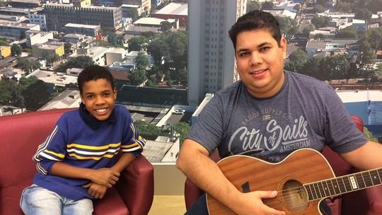 'Tem música na alma', diz produtor sobre Juan Carlos Poca, do 'The Voice Kids'