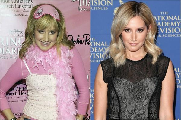Ashley Tisdale começou como Maddie em 'Zack e Cody: Gêmeos em Ação' e depois fez Sharpay em 'High School Musical'. Dá para acreditar que ela tem quase 30 anos? (Foto: Getty Images)