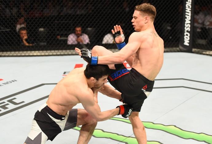 Rustam Khabilov Chris Wade UFC Holanda (Foto: Getty Images)