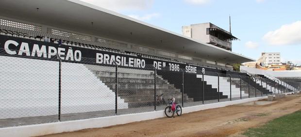 Estádio Presidente Vargas, do Treze, na Paraíba (Foto: Magnus Menezes / Jornal da Paraíba)