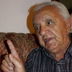Sebastião de Almeida Ramos, pai de Carlos Cachoeira, que está preso. (Foto: Vianey Bentes/ TV Globo)