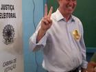 Jonas evita clima de comemoração durante votação em Campinas