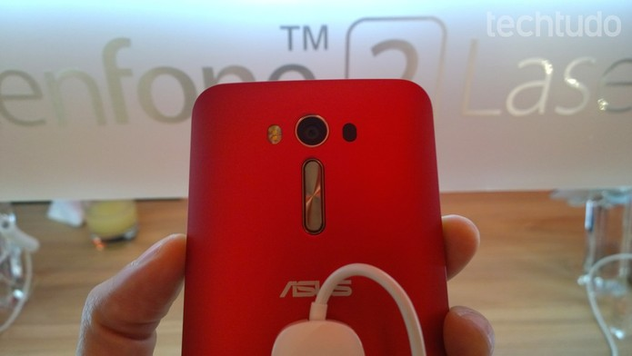 Zenfone 2 Laser tem melhor estabilidade de câmera (Foto: Fabricio Vitorino/TechTudo)