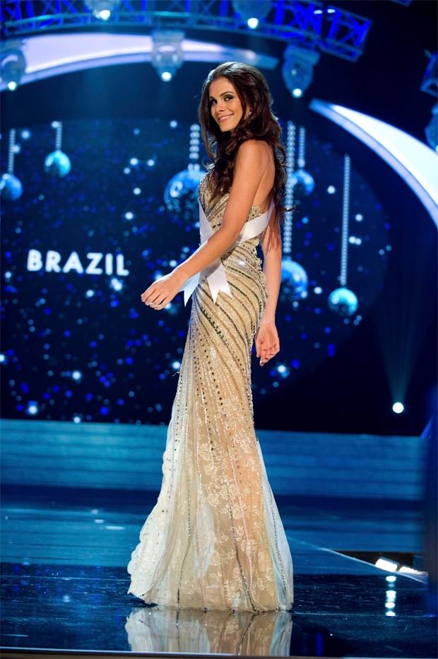 Gabriela Markus, a Miss Brasil (Foto: Frank Szelwach / Reuters)