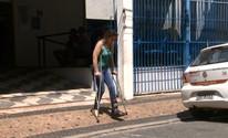 Volta dos médicos peritos do INSS tem confusão em Campinas, SP (Reprodução/EPTV)