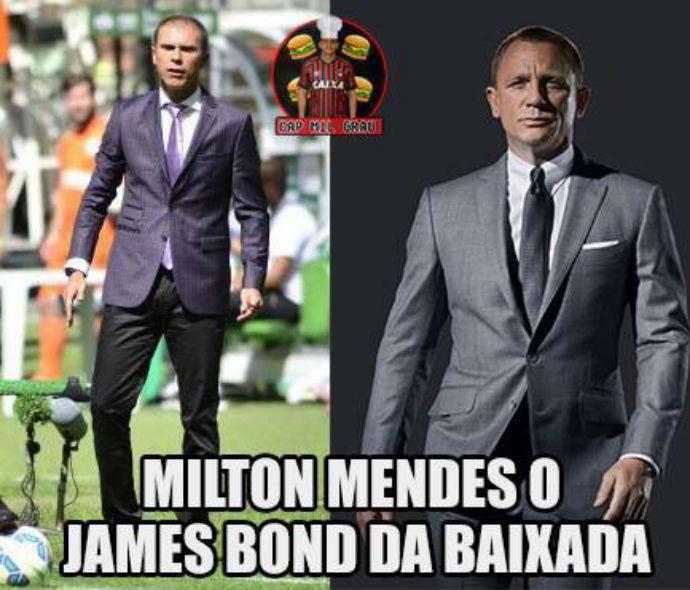 Milton Mendes Atlético-PR (Foto: Reprodução/ Internet)