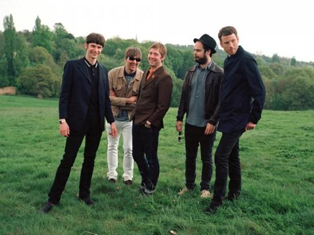 Quinteto britânico Kaiser Chiefs (Foto: Divulgação)