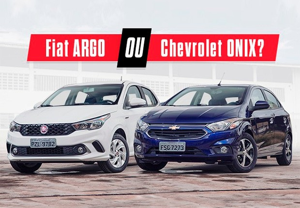 Comparativo: Fiat Argo x Chevrolet Onix (Foto: Fabio Aro/Autoesporte)