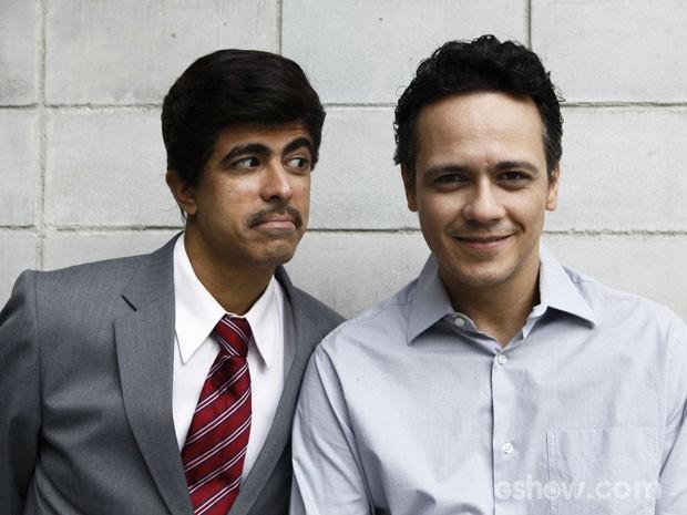 Melhem e Danton (Foto: Inácio Moraes/TV Globo)