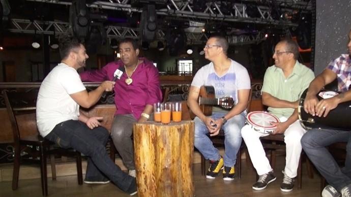 Apaixonados pelo Ceará, integrantes da banda Raça Negra contam novidades. (Foto: Produção / Se Liga VM)