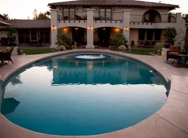 Channing Tatum se hospeda em mansão (Foto: Divulgação)