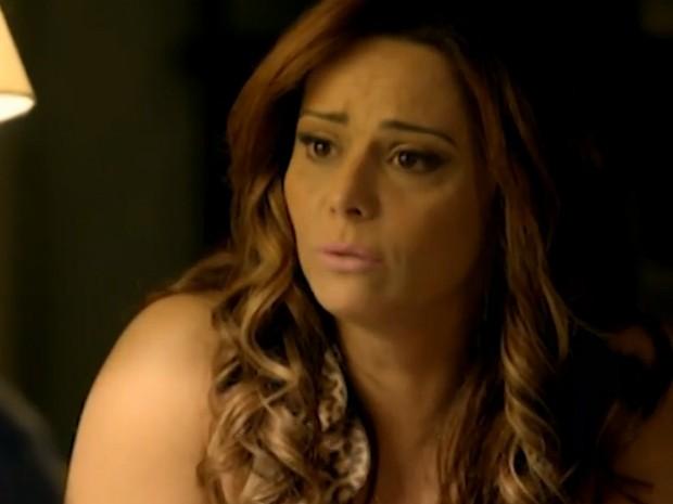 Naná fala do processo de adoção de Luciano (Foto: TV Globo)