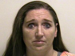 Megan Huntsman, acusada de matar bebês recém-nascidos nos EUA (Foto: AP Photo/Utah County Jail)