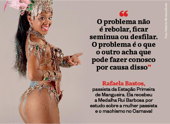 Frases que resumem a semana | Rafaela Bastos (Foto: Roberto Moreyra/Extra)