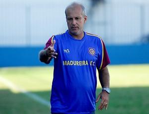 Alexandre Gama, técnico do Madureira (Foto: Carlos Junior/FutRio)