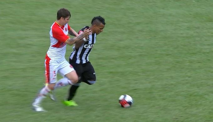 Farião; Atlético-MG; Tricordiano (Foto: Reprodução/Premiere)