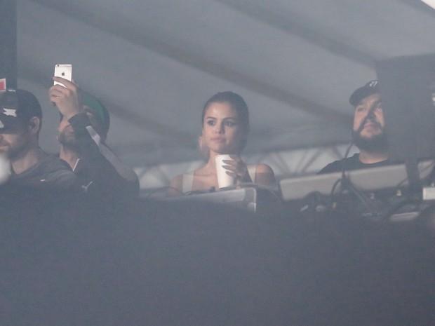 Selena Gomez no Lollapalooza em São Paulo (Foto: Rafael Cusato/ EGO)